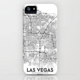 Minimal City Maps - Map Of Las Vegas, Nevada, United States iPhone Case