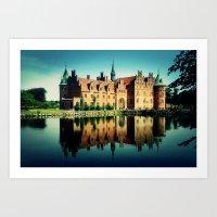 castle Art Prints featuring Castle by EclipseLio