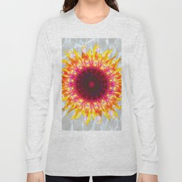 sunflower happiness Long Sleeve T-shirt