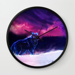 WOLF - Fang Of The North Wall Clock