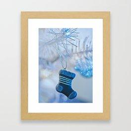 Christmas Stocking Framed Art Print
