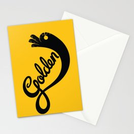 Golden! Stationery Cards