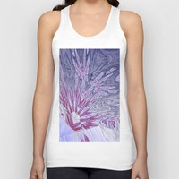ice Tank Tops featuring ice by donphil