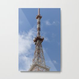 Antena of Sky Metal Print