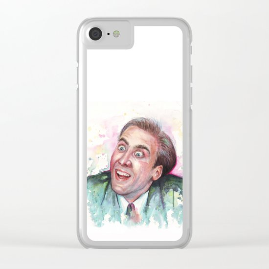 Nicolas Cage You Don't Say Clear iPhone Case