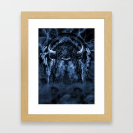 SPIRIT BUFFALO Framed Art Print