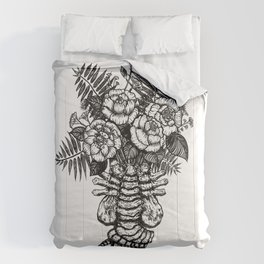 Facehugger Bouquet Comforters