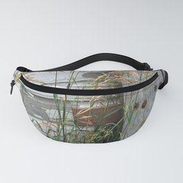 Weathered Wood and Weeds Fanny Pack