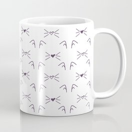 Cat Pattern #society6 #decor #buyart #artprint Coffee Mug