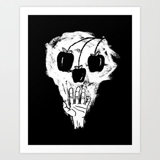 FALL TIMES Art Print