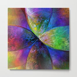 Every New Beginning Comes From Some Other Beginnings End - Digital Artwork Metal Print