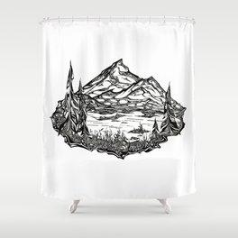 Shucksan Dream Shower Curtain