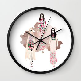 Fashionary - Rose Gold Wall Clock