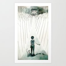 so lonely and so lost... Art Print