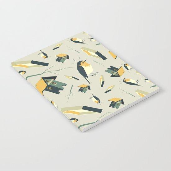Flying Birdhouse (Pattern) Notebook