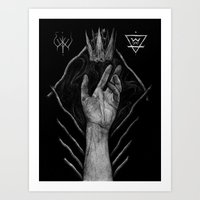Crown of Earth and Bone Art Print