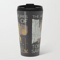 Books Collection: Tom Sawyer Metal Travel Mug