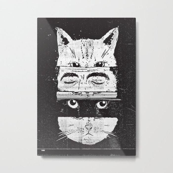 The cats Metal Print