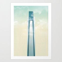 Comcast Center - Philadelphia Art Print