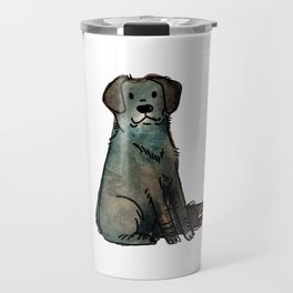 Scotch - Dog Watercolour Painting Travel Mug
