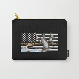 Ducks Flying (Camouflage) Carry-All Pouch