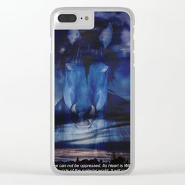 Remember Who You Are Clear iPhone Case