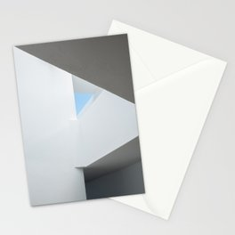 Geometric shapes in a building | Playa Blanca Lanzarote | Minimal fine art architecture photography  Stationery Cards