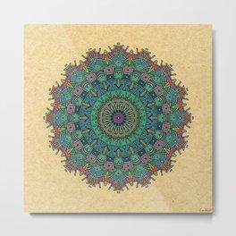 - ancient wheel - Metal Print