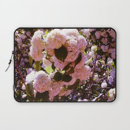 Pink Snowballs Laptop Sleeve