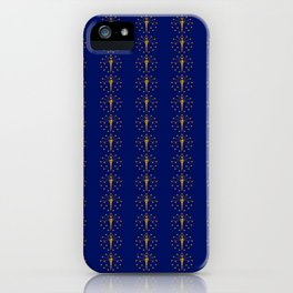flag of indiana 2-midwest,america,usa,carmel, Hoosier,Indianapolis,Fort Wayne,Evansville,South Bend iPhone Case