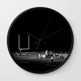 Friday night lights 2.0 Wall Clock