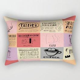 Italian For My Girlfriend - rrrrrude! edition Rectangular Pillow
