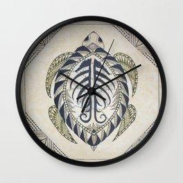 Sacred Turtle Wall Clock