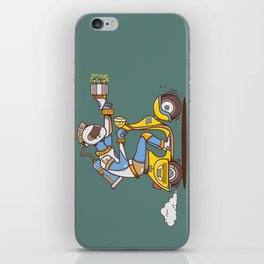 Space Scooterman iPhone Skin