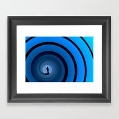 Bond Man Framed Art Print