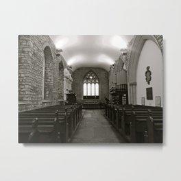 Irish Church Metal Print