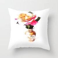 decorative Throw Pillows featuring Decorative by Vitta