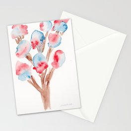 23  | Loose Watercolor Flower | 191015 Stationery Cards