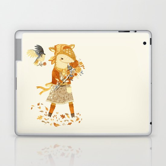 Dakota the Daisy Deer Laptop & iPad Skin