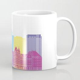 Edmonton skyline pop Coffee Mug