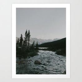 In The Stream Art Print