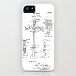 Vintage Design for Car Fan by Garrett Morgan iPhone Case