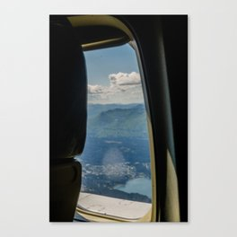 Airline View Canvas Print