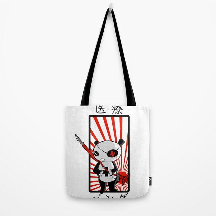 Medical Panda Tote Bag