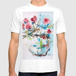 Roses (sketch) T-shirt