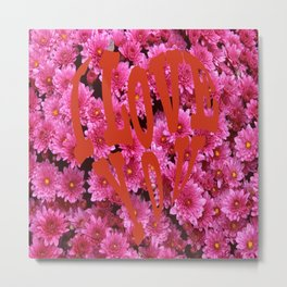 loves flower Metal Print