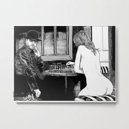 asc 418 - Le tricheur (The cheater) Metal Print