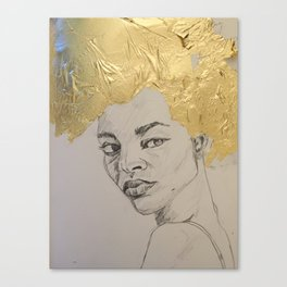 gold leaf Canvas Print