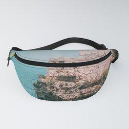 Italy Coast / Polignano Cliff Sea Fanny Pack
