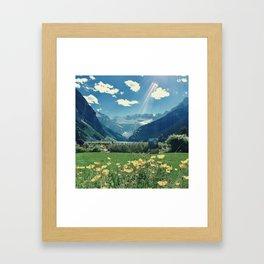 Lake Louise Dream Framed Art Print